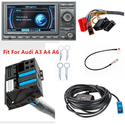 RNS-E GPS Navigation System Adapter Interface Retrofit Fit For  Audi A3/4/6