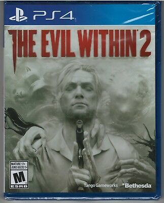Evil Within 2 (Sony PlayStation 4, 2017) -NEW-