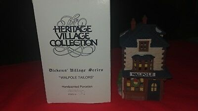 "Heritage Village Collection, Dickens Village Series ""Walpole Tailors""  Dept 56"