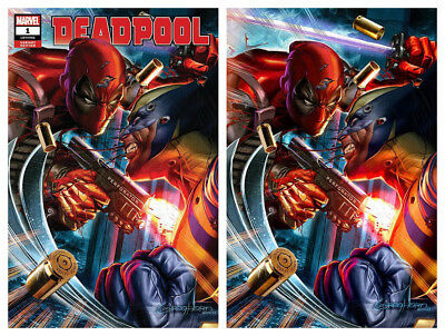 DEADPOOL #1 Greg Horn Virgin Variant Cover Set Marvel 1st Print New Unread NM