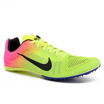 e5ee5f227c5 New Nike Zoom D OC Mens Track Field Spikes Distance Running Shoes - Volt    Pink