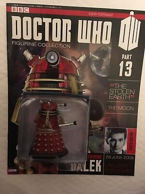 Bbc Series Doctor Who Dr Issue 13 The Supreme Dalek Eaglemoss Figurine + Mag
