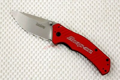 1870RDSO Kershaw Knockout speed safe RED Snap-On Version plain blade NEW BLEM