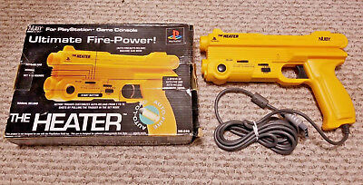 The Heater Gun Controller Nuby Playstation 1 Ps1 Vtg Light Pistol Game Accessory