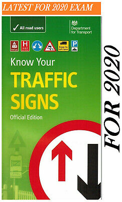 LATEST DVSA DVLA OFFICIAL KNOW YOUR TRAFFIC SIGNS PAPERBACK BOOK 2019 Trfc