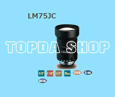 1PC KOWA LM75JC  machine vision Focal lens#SS