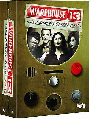 Warehouse 13: The Complete Series 1-5 ,DVD  Box Set, FREE SHIPPING, NEW.