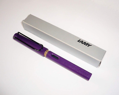 Lamy Safari Dark Lilac Special Edition 2016 °F NIB FOUNTAIN PEN