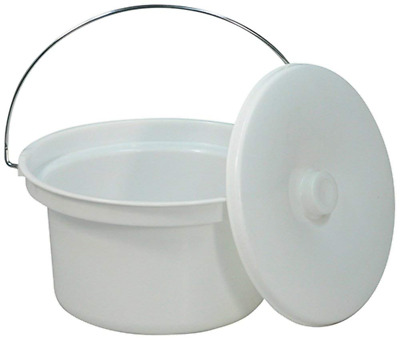Aidapt 5 L Commode Bucket and Lid (Eligible for VAT relief in the UK)