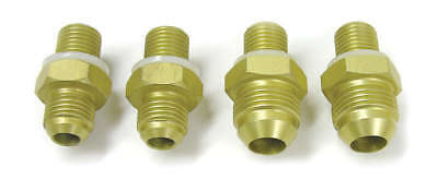 ATI PERFORMANCE 6 AN Male to 1/4 in NPSM Male Alum Straight Fitting P/N 925137