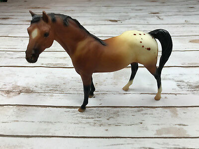 Breyer Reeves Ponies Horse Stablemates Standing Light Brown Spots Daple Dots