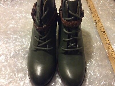 2a54ed63831 WOLVERINE1000 MILE SAMANTHA Pleet Lace Up Boots Rust/Black Leather ...