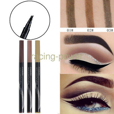 2X Patented Microblading Tattoo Eyebrow Ink Pen Eye Brow Makeup Pencil 3 Colors