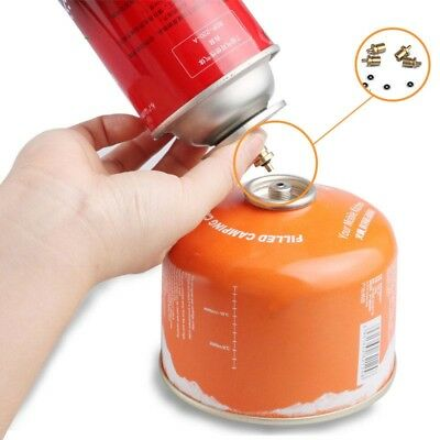 Gas Refill Adapter For Outdoor Camping Stove Gas Cylinder Tank Butane Canister