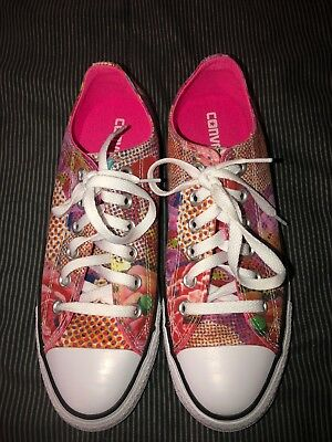 b6a681b60043c2 Converse Chuck Taylor All Star Digital Floral Ox Womens Shoes Sneakers Size  8