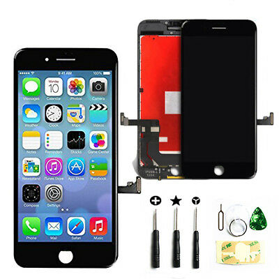 For iPhone 7 LCD Touch Screen Replacement Assembly Frame Retina 3D Touch Black