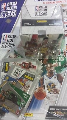 Album Starter Pack Nba 2018 2019 + Box 50 Bustine/packets.panini