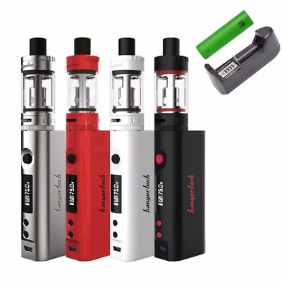 75W Kangertech TOPBOX Mini TC Starter Kit  Kbox 4ml Tank Top Filling US Shipping