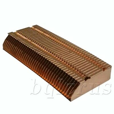 Notebook Laptop PC Cooling Pad All-Copper Fin Heat Sink Metal Accessory