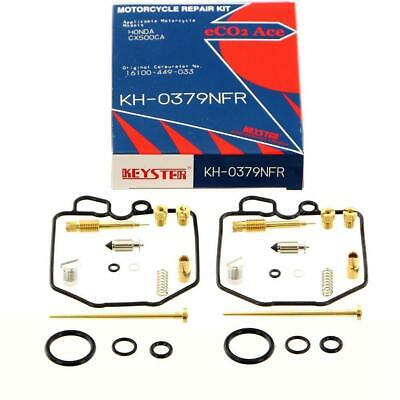 Honda CX 500 '80-84 2x Vergaser Reparatursatz Dichtsatz Carburator repair kit