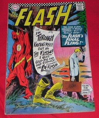 The Flash_ 159# Mar_ 1966 Flash's _Final _Fling Great Comic In Great Nic