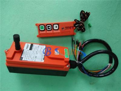 New F21-2S Wireless Remote Control for Radio Hoist Crane Transmitter+Receiver