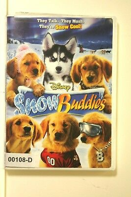 DVD Movie DISNEY SNOW BUDDIES Dogs in Original Jacket