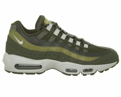 f8e10be090 Nike Air Max 95 Essential 749766 303 Mens Trainers Olive Gym Running Shoes