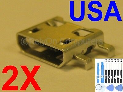 2x Port Connector H635 Charging Ms631 Stylo H631 Ls770 G Lg H630