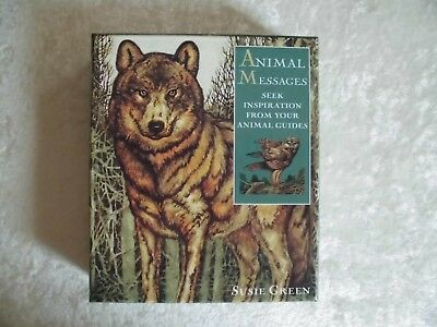 Animal Messages, Kartenset, Susie Green, Buch, Esoterik, Magie, Orakel