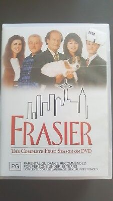Frasier : Season 1 [ 4 DVD Set ] Brand NEW & SEALED, Free Next Day Post from NSW