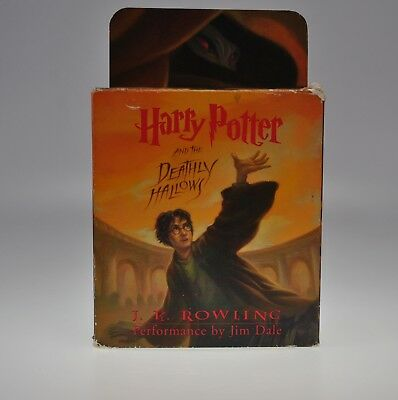 Harry Potter And The Deathly Hallows J K Rowling 2007 Unabridged