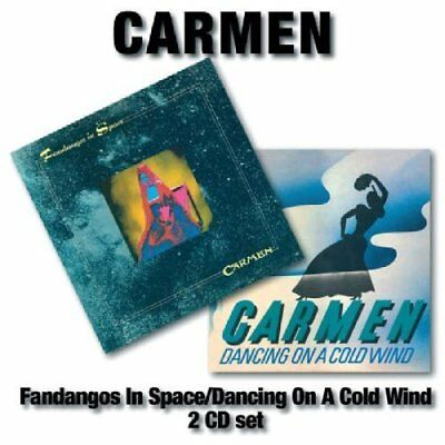 Carmen-Fandangos in Space/dancing On a Cold Wind (UK IMPORT) CD NEW