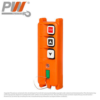 ProWinch F21 Transmitter (only) Single Speed