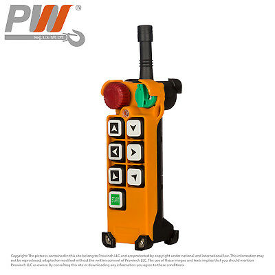 ProWinch F24 Transmitter (only) 6 Buttons Single Speed