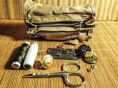 Italian Military Issue Surplus Sewing Kit - Unissued - NEW