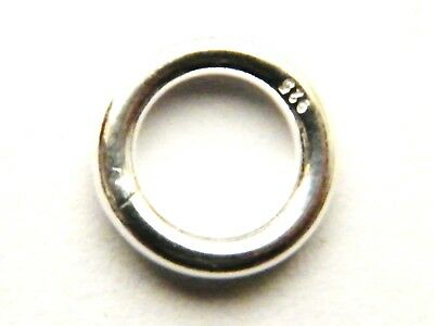 10mm Closed Sterling Silver Jump Ring Extra Heavy 1.8mm Wire  Gauge Findings