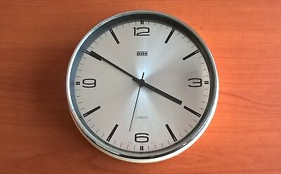 Vintage BHS British Home Stores Metamec Wall Clock - Retro Battery Operated UK