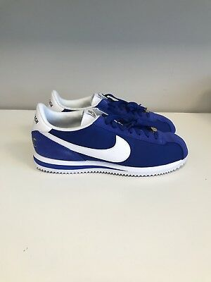 32e8be7cf3ce9c NIKE CORTEZ BASIC Nylon Premium Long Beach LBC Shoes Blue New ...