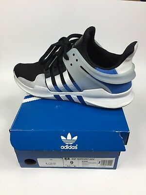 finest selection 59adc d5414 MENS SIZE 9 Adidas EQT Support ADV. 91-16 White Blue Gray Equipment Shoes