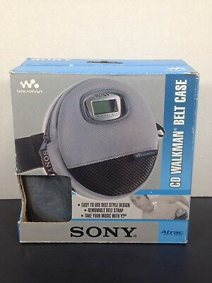 Sony CD Walkman Discman Belt Case Waist Clip Fanny Pack CDCASE4 Atrac
