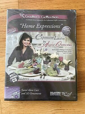 Studio Bernina Expressive Lace By Marie Osmond Home Expressions