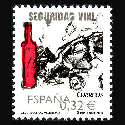 Spain 2009 - Road Safety - Sc 3659 MNH