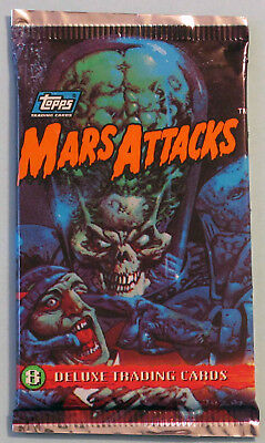 NM/M Master Set Topps 1994 Mars Attacks Archives w/ Bonus 1984 RGI Reprint Set