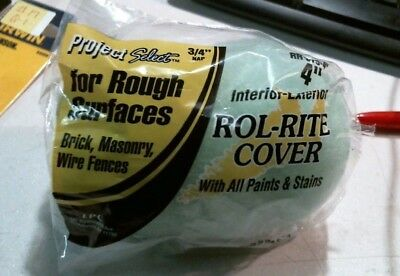 """Project Select Rol-Rite Cover 4"""" Roller FREE SHIPPING"""