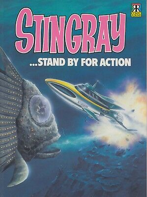 Stingray Stand By For Action Comic Album #2 Gerry Anderson Reprints Classic Book
