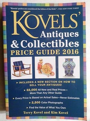 Kovels' Antiques & Collectibles Price Guide 2016. Find The Value of What You Own