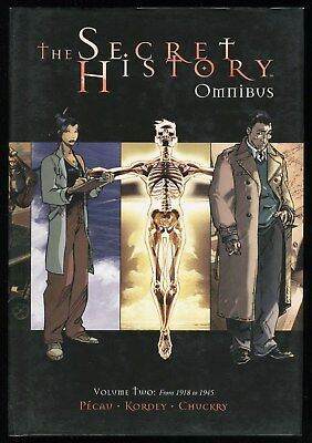 The Secret History Omnibus 2 From 1918 to 1945 Hardcover HC Archaia World War 2