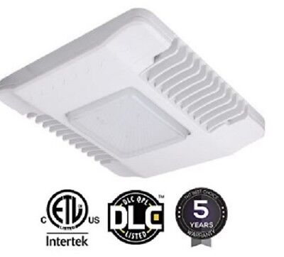 150W LED Gas Station Canopy Light 5700k Drop Lens UL/DLC 5 Years Free Shipping.