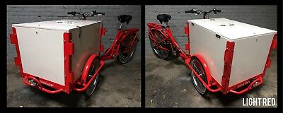 Icicle Tricycle Ice Cream Bike Light Red